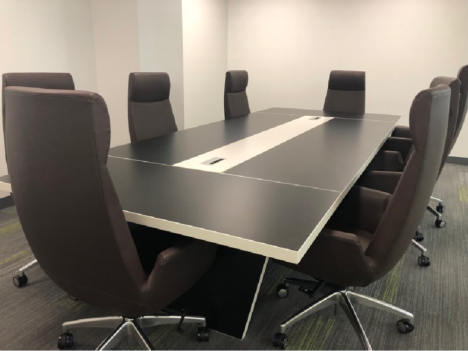 Custom Conference Table Available Now From Our Irvine Warehouse - Espresso conference table